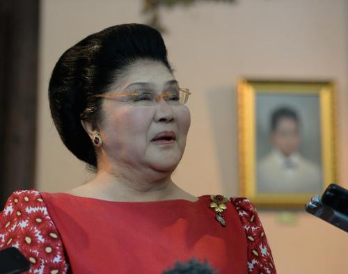 菲律宾前第一夫人伊美黛?马可仕