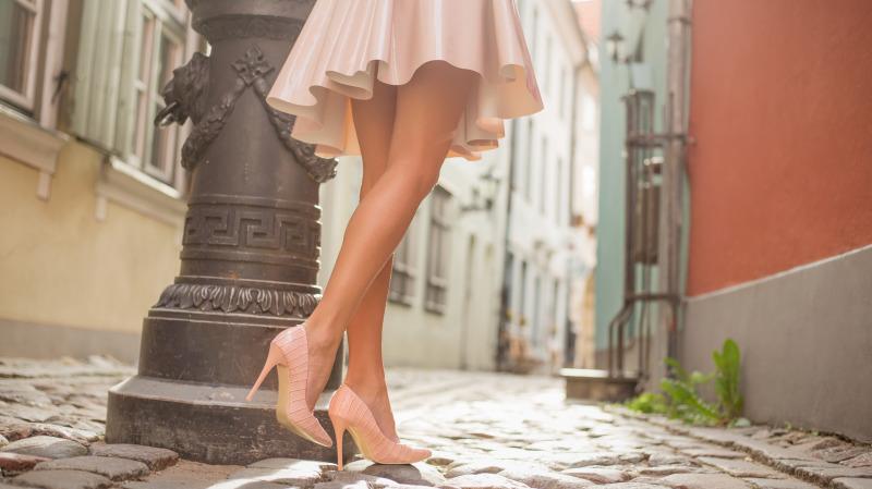 女人穿什么鞋,就是什么样的人。