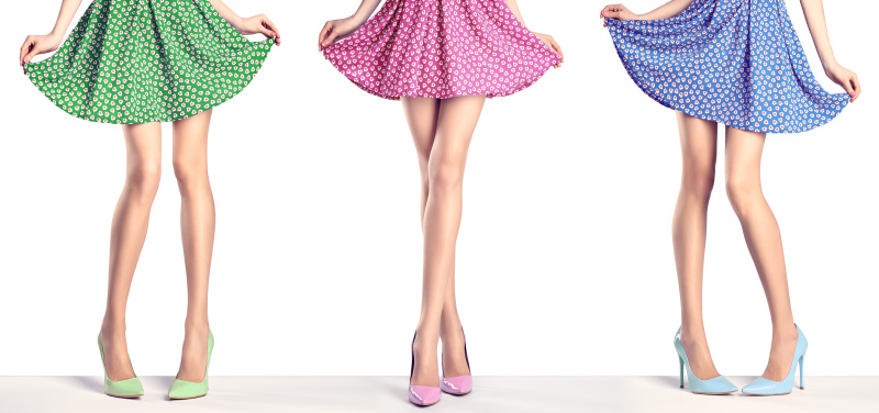 高跟鞋女人,是不服輸的一類女人。