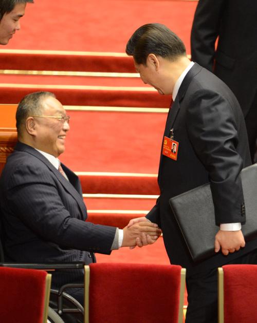 习近平和邓小平长子邓朴方