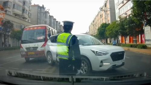 中国车祸现场