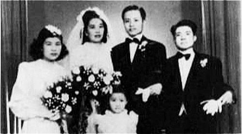 陈琏是中共埋藏在陈布雷身边的一颗炸弹,图为陈琏和袁永熙的结婚照。