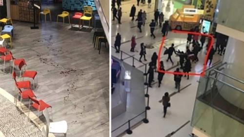 北京大悦城发生砍人事件