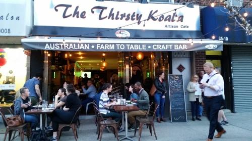 有机和非转基因餐馆之旅之二:口渴的考拉(The Thirsty Koala)