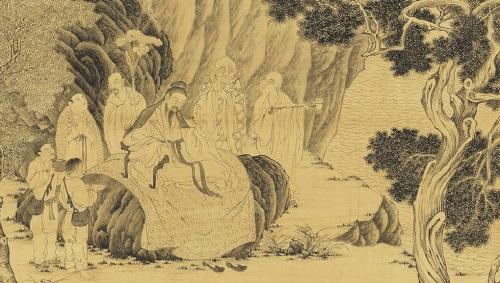 出神入化顾恺之笔下的维摩诘画像