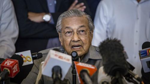 马来西亚终止3条中资管道建设(图)