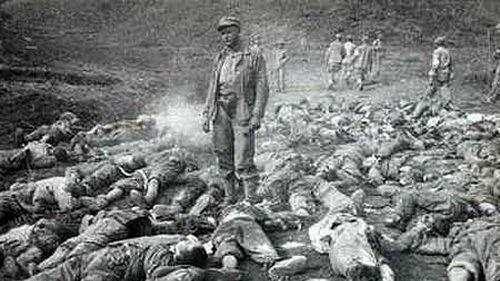 韓戰共軍慘敗