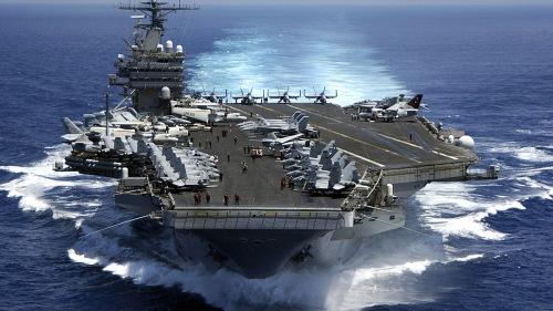 美国海军尼米茲級(Nimitz)卡爾文森號航空母艦(USS Carl Vinson)