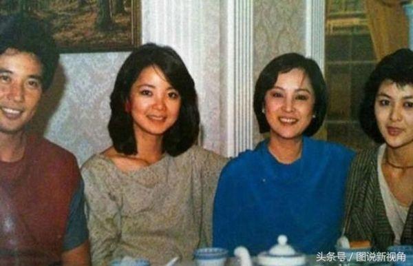邓丽君与秦汉、关之琳的合照,还有一位你认得出来是谁吗?