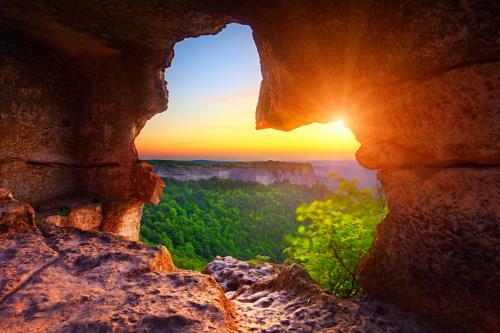 洞窟探险发现了四种不可思议的东西!但是你只剩一张底片,这时你会选择拍摄哪一种东西?