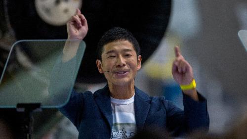 SpaceX私人绕月飞行 一位日本人将带6-8人免费é‥游太空