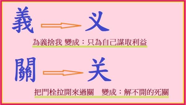汉字背后有神灵,也都有预兆性。
