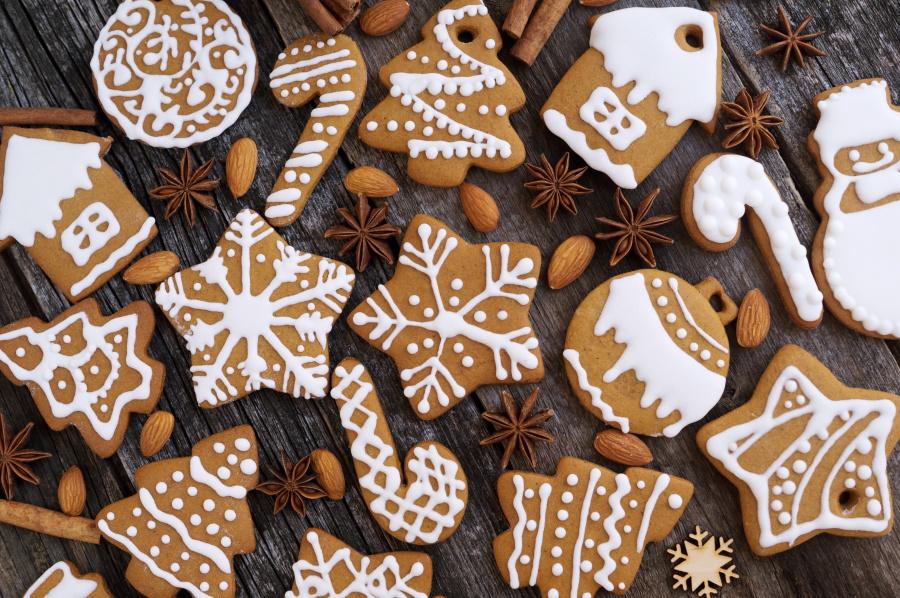 英国:圣诞节禁止吃饼干。