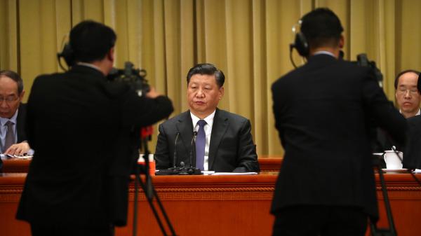 中国急了? 刘鹤现身副部长级磋商(图)