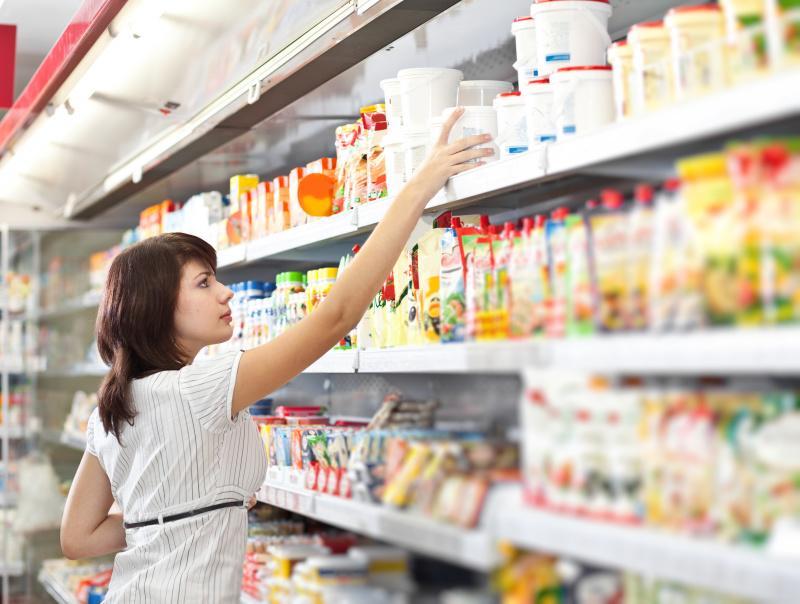 德国人会在每件商品的标签标上每100克或是每一公斤的价钱是多少。