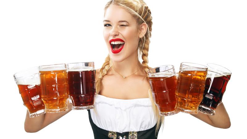 世界上最著名的啤酒节就在德国。