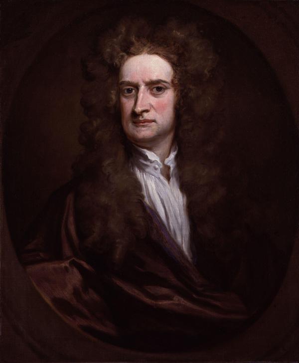 著名科学家牛顿。
