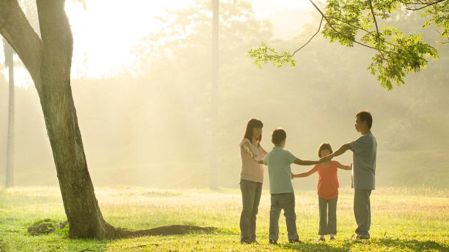 一個家庭有四種風水養好就是富貴。