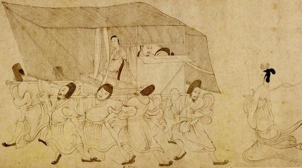 古画 古代人物 -|图片来源: 公用领域 公有领域 - |