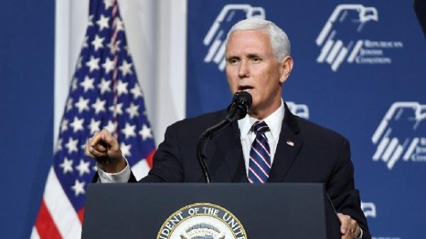 美國副總統彭斯8月5日會見了四位爭取中國宗教自由的人士。