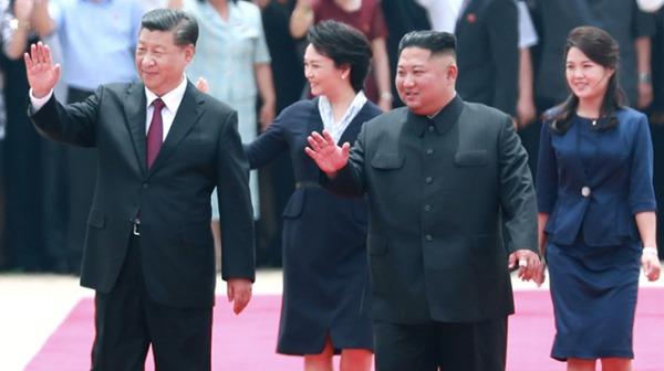 习近平访朝 韩国:最终由朝鲜美国解决(图)