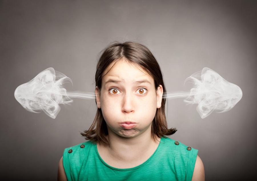 生氣對人體健康影響巨大。