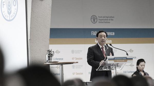 中共農業部副部長屈東玉6月23日「當選」聯合國農糧組織(FAO)總幹事。