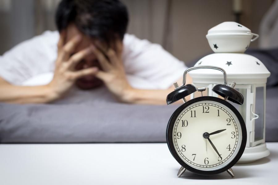 失眠也是現代人常見的睡眠障礙。
