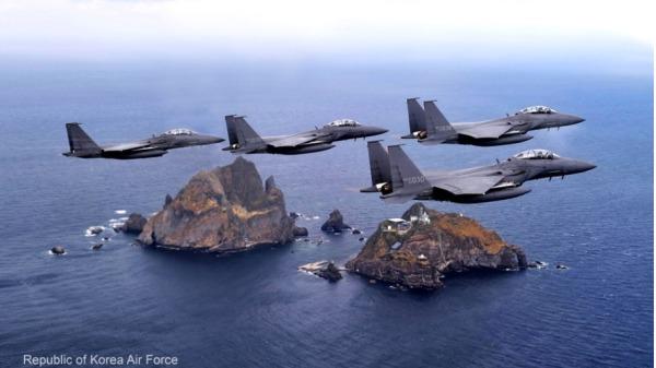 韩国:若日机侵入独岛上空将严厉应对(图)