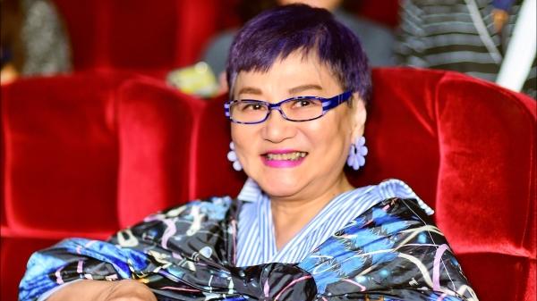 """张小燕在第54届电视金钟奖中获颁""""终身成就奖""""。"""