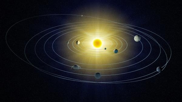 太阳系形成不到20万年
