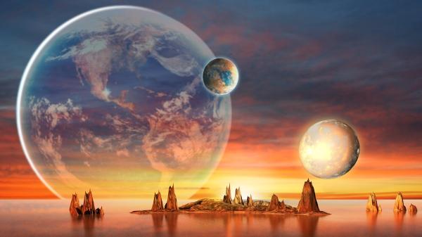 """地球2.0?NASA发现太阳系外""""有水行星""""(组图)"""