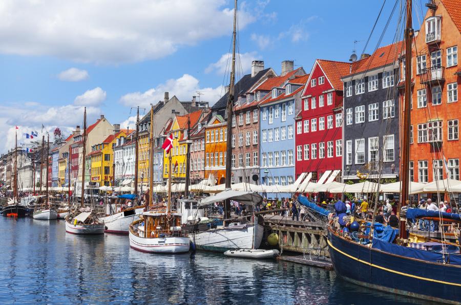 丹麦首都哥本哈根。
