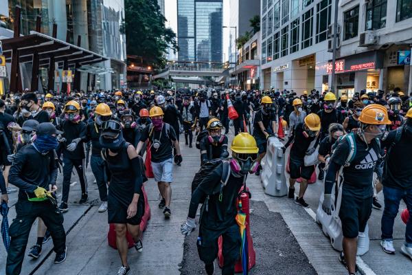 香港的人的状况和未来(组图)